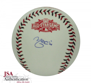 Yadier Molina Signed Rawlings All Star 2015 MLB Baseball - St Louis Cardinals - JSA-0