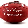 "Joe Montana Autographed/Signed San Francisco 49ers Throwback Authentic Super Bowl 23 NFL Football with ""SB XXIII Champs"" Inscription-507"