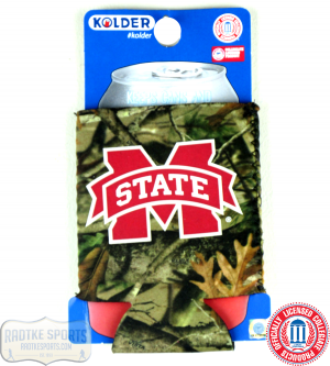 Mississippi State Bulldogs Officially Licensed 12oz Neoprene Can Koozie - Camo-0