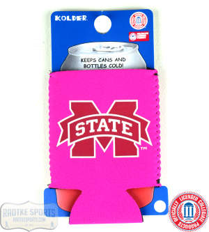 Mississippi State Bulldogs Officially Licensed 12oz Neoprene Can Koozie - Pink-0