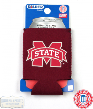 Mississippi State Bulldogs Officially Licensed 12oz Neoprene Can Koozie-0