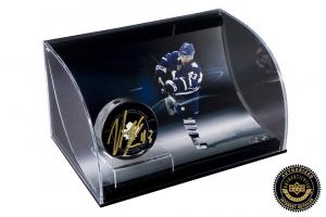 Nazem Kadri Signed NHL Hockey Puck with Curved Display-0