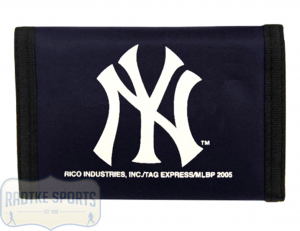 New York Yankees Officially Licensed MLB Nylon Wallet-0