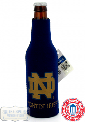 Notre Dame Fighting Irish Officially Licensed 12oz Neoprene Bottle Koozie-0