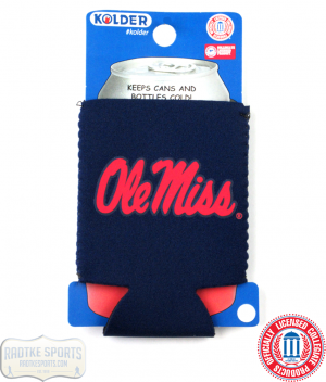 Ole Miss Rebels Officially Licensed 12oz Neoprene Can Koozie-0