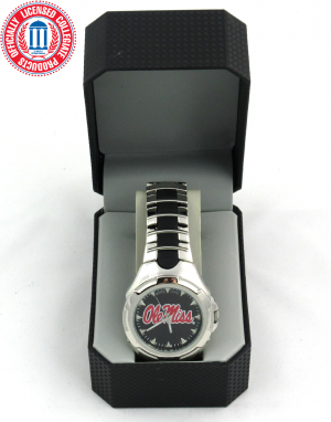Ole Miss Rebels Officially Licensed GameTime Victory Series Men's Watch-0