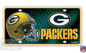 Green Bay Packers Officially Licensed NFL Metal License Plate-0