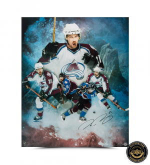 Peter Forsberg Signed Avalanche Collage 20x24 Photo - LE-0