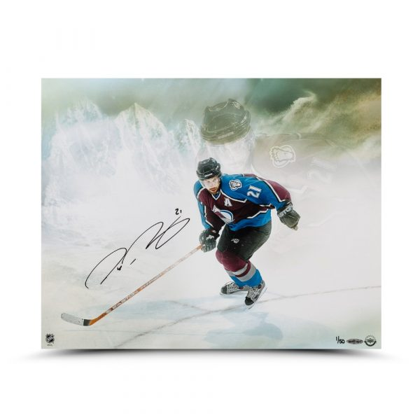 """Peter Forsberg Signed """"Watcher"""" 16x20 Photo - LE-13854"""
