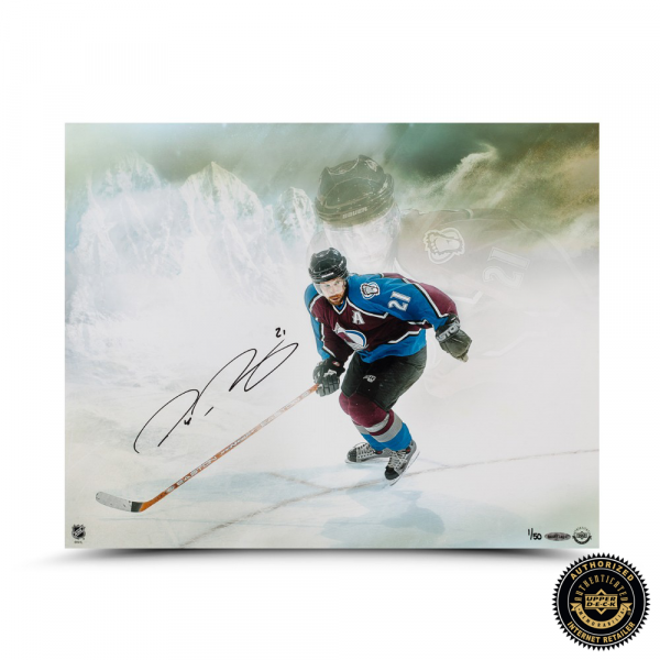 """Peter Forsberg Signed """"Watcher"""" 16x20 Photo - LE-0"""