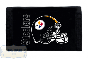 Pittsburgh Steelers Officially Licensed NFL Nylon Wallet-0