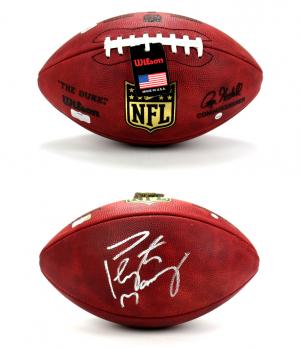 Peyton Manning Signed Denver Broncos Riddell Full Size NFL Helmet - Steiner & Fanatics-0