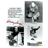 Charley Trippi Autographed/Signed Georgia Bulldogs Career Highlight Collage 8x10 NCAA Photo Signed In Red-0