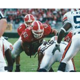 Russ Tanner Autographed/Signed Classic Georgia Bulldogs 8x10 NCAA Photo Red Jersey-0