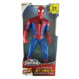 Stan Lee Autographed/Signed Ultimate Spider-Man 31 Posable Action Figure In-Box-0