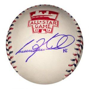 Craig Kimbrel Autographed/Signed Atlanta Braves 2014 All Star Official Rawlings Baseball-0