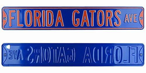 Florida State FSU Seminoles Avenue Officially Licensed Authentic Steel 36x6 Garnet amp Gold NCAA Street Sign-0