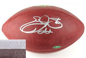 Emmitt Smith Autographed/Signed Wilson Authentic Duke NFL Football - UDA-0