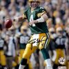 "Brett Favre Autographed/Signed Green Bay Packers 16x20 NFL Photo ""Action Shot""-0"