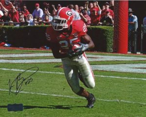 Tra Battle Autographed/Signed Classic Georgia Bulldogs 8x10 NCAA PhotoDiving&quot-0