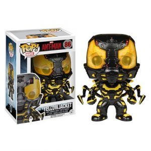 Funko Pop Ant-Man Movie Yellow Jacket Vinyl Bobble Head Figure 86-0