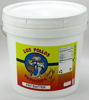 Giancarlo Esposito Autographed/Signed Breaking Bad Los Pollos Hermanos French Fry Batter Delivery Bucket-0