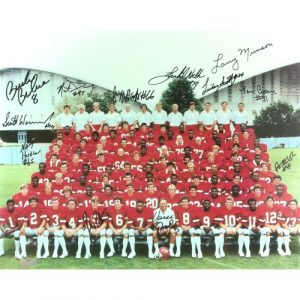 1980's Georgia Bulldogs Autographed/Signed Classic SEC Framed 11x14 NCAA Team Photo with 12 Signatures-0