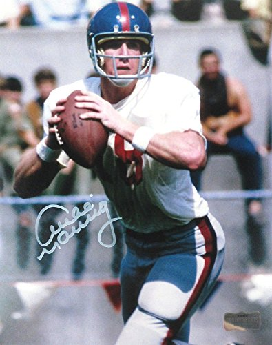 Archie Manning Autographed/Signed Ole Miss Rebels 8x10 NCAA Vintage Action Photo-0
