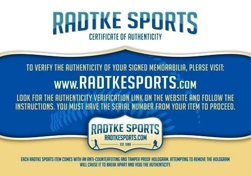 "Chris Davis, Jr Signed Auburn Tigers Framed Blue Custom Jersey with ""Kick Six"" Inscription-20661"