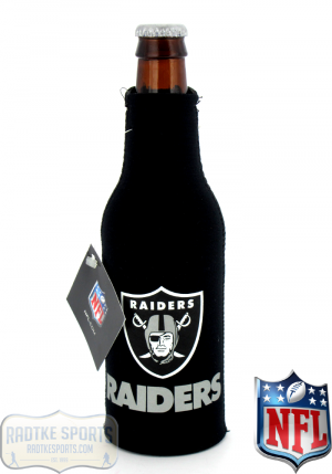 Oakland Raiders Officially Licensed 12oz Neoprene NFL Bottle Huggie-0