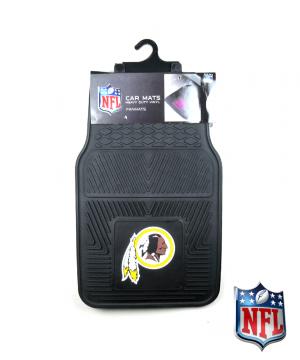 Washington Redskins Officially Licensed 17x27 Heavy Duty Vinyl NFL Car Mats Set-0