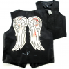 Norman Reedus Signed The Walking Dead Officially Licensed Angel Wing Vest-0