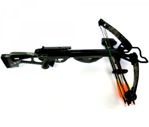 Norman Reedus Signed Bone Collector Black Full Size Crossbow - The Walking Dead-0