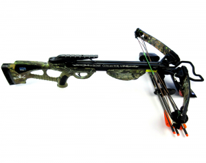 Norman Reedus Signed Bone Collector Camo Full Size Crossbow - The Walking Dead-0