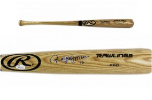 Roberto Alomar Signed Toronto Blue Jays Rawlings Official MLB Bat -0