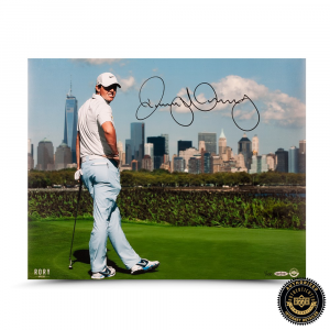 Rory McIlroy Signed NYC 16x20 Photo - LE-0