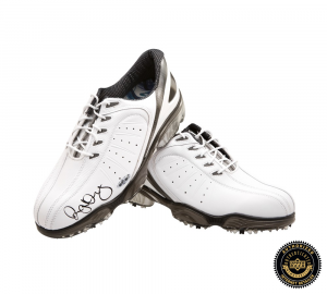 Rory McIlroy Signed Foot Joy Sport White Golf Shoes-0