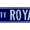 Kansas City Royals Avenue Officially Licensed Authentic Steel 36x6 Blue & White MLB Street Sign-9076