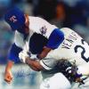 Nolan Ryan Autographed/Signed Texas Rangers Iconic 16x20 MLB Photo - Ventura Fight-0