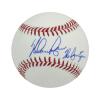 "Nolan Ryan Autographed/Signed Texas Rangers Rawlings Major League Baseball with ""Ryan Express"" Inscription-0"