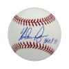 "Nolan Ryan Autographed/Signed Texas Rangers Rawlings Major League Baseball with ""HOF 99"" Inscription-0"