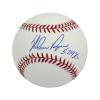 "Nolan Ryan Autographed/Signed Texas Rangers Rawlings Major League Baseball with ""5,714 Ks"" Inscription-0"