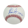 "Nolan Ryan Autographed/Signed Texas Rangers Rawlings Major League Baseball with ""324 Wins"" Inscription-0"