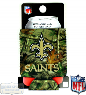 New Orleans Saints Officially Licensed 12oz Neoprene Can Huggie - Camo-0