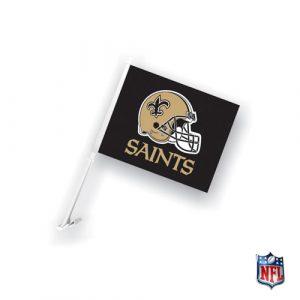 Officially Licensed New Orleans Saints NFL Car Flag-0
