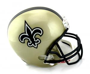 New Orleans Saints Riddell Full Size Replica NFL Helmet-0