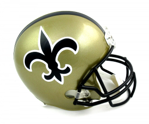 New Orleans Saints Riddell Throwback Full Size Replica NFL Helmet-0
