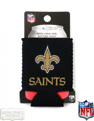 New Orleans Saints Officially Licensed 12oz Neoprene Can Huggie-0