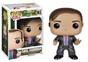 Pop! TV Breaking Bad Saul Goodman #163 In-Box Action Figure-0