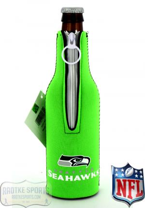 Seattle Seahawks Officially Licensed 12oz Neoprene NFL Bottle Huggie-0